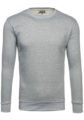 En Manche Bolf Enfiler Gris 01 À Longue Tricot Motiv 5e5 bo Sportif Pull Top Pullover Homme Sweatshirt qq8rpwztx