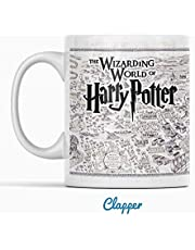Clapper Taza Harry Potter. Taza de Cafe The Wizarding World of Harry Potter