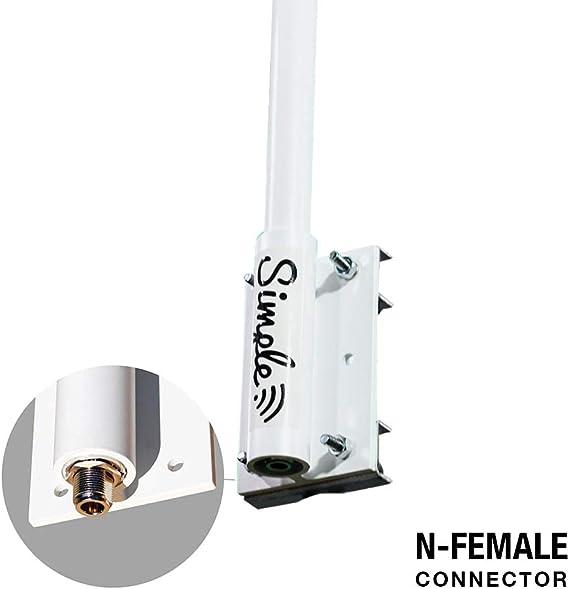 Amplificador WiFi (omnidireccional) Amplificador de señal Wi ...