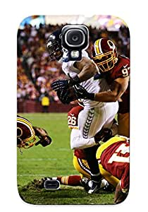 New Exultantor Super Strong Washinn Redskins Nfl Football Seale Seahawks Tpu Case Cover Series For Galaxy S4