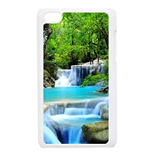 Waterfall iPod Touch 4 Case White P6W1UX