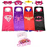 SPESS Costumes Girl Cape and Mask with Girl's Hair Band