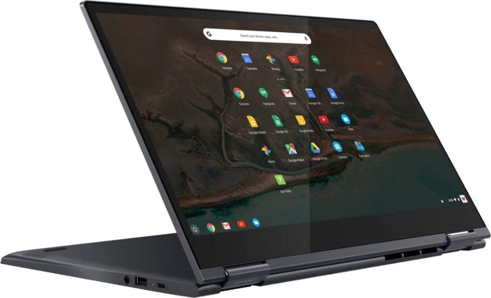 "Lenovo Yoga C630 Chromebook 2019 2-in-1 Laptop 15.6"" FHD Multi-Touch Screen, Intel Core i5-8250U, 8GB RAM, 128GB SSD + 128GB SD Card, No DVD, USB 3.0-C, Bluetooth, Webcam, Wi-Fi, Chrome OS"