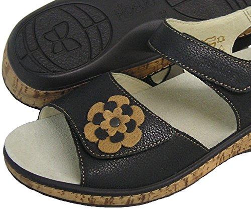 Fidelio Kvinnor Mjuk-line Justerbar Sandal 245.007 (santiago / Brun)