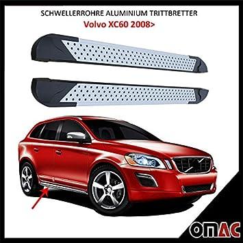 Potenciador tubos aluminio pedalada Tablas para Volvo XC60 a partir de 2008 Almond (183): Amazon.es: Coche y moto