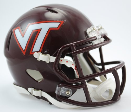 Riddell NCAA Virginia Tech Hokies Speed Mini casco