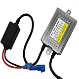 PolarLander 2pcs 12V AC 55W Digital Slim Ballast Replacement Reactor Ignition Block For Xenon HID Lamps