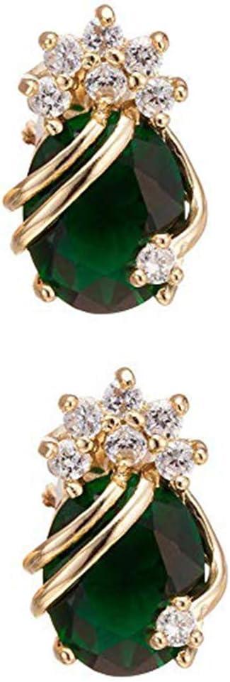 Earring Pendientes Personalizados Exquisitos Pendientes de Joyería para Mujer Cuelgan una Gota Larga de Agua Circonita Colgantes de Diamantes de Imitación de Piedras Preciosas Pendientes de Oreja con