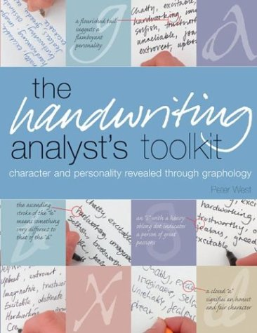 The Handwriting Analyst's Toolkit: Character and Personality Revealed Through Graphology by Barron's Educational Series