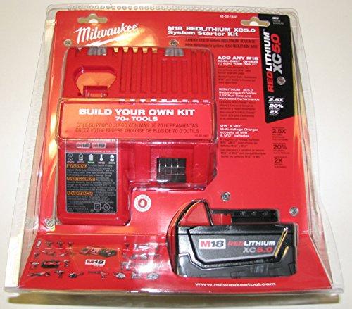Milwaukee 48-59-1850 M18 Xc 5.0 Starter Kit (Recycled Series Cutting Board)