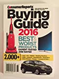 Consumer Reports Buying Guide 2016 Best & Worst Products