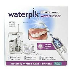 WaterPik WaterFlosser Whitening 2019 Model - 120 Tablets - 6 Tip