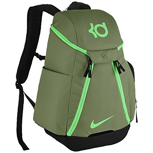 Nike KD MAX AIR ELITE BACKPACK unisex hiking-daypacks BA5394-387 – PALM GREEN/BLACK/ELECTRO GREEN For Sale