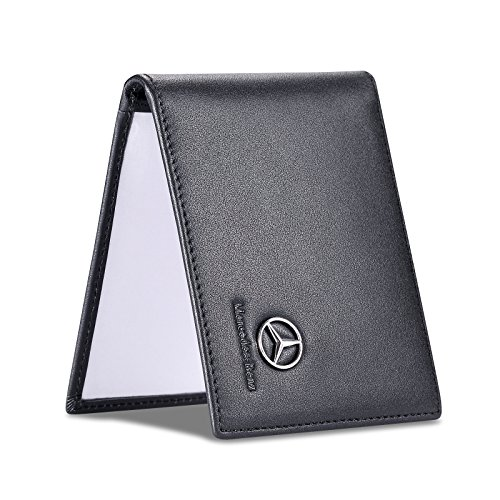 Drivers Mercedes (Mercedes Benz Driver License Holder with a Front Card Slot - Genuine Leather)