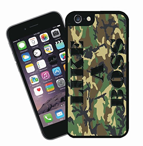 Like a Boss - This cover will fit Apple model iPhone 7 (not 7 plus) - By Eclipse Gift Ideas