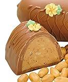 Philadelphia Candies Peanut Butter Easter Egg, Milk Chocolate 8 Ounce Gift Box