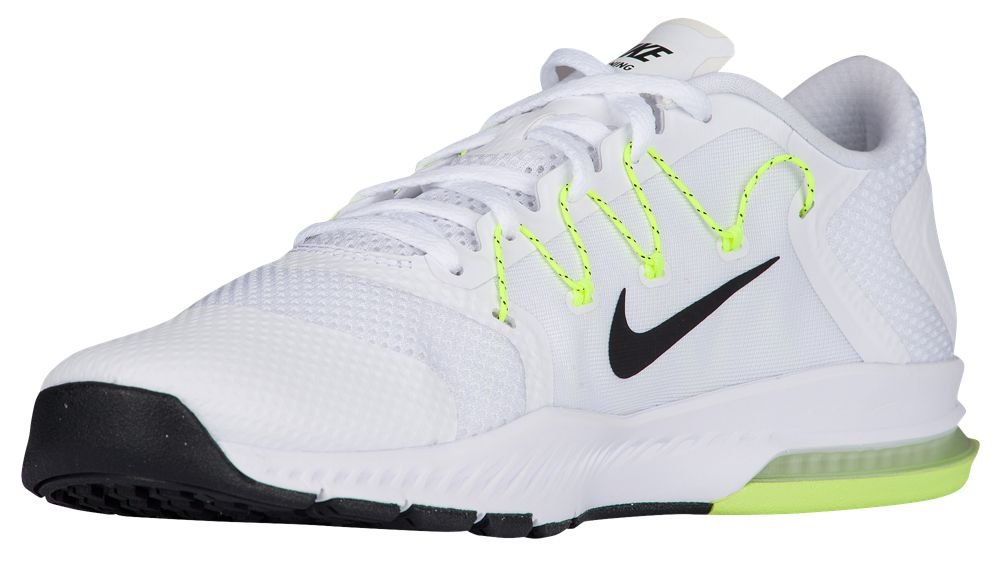 NIKE Air Zoom Train Complete Sneakers Mens Running Trainers 882119 Sneakers Complete Shoes B01DLD4Q66 11 D(M) US|White / Black - Pure Platinum - Volt 008b62
