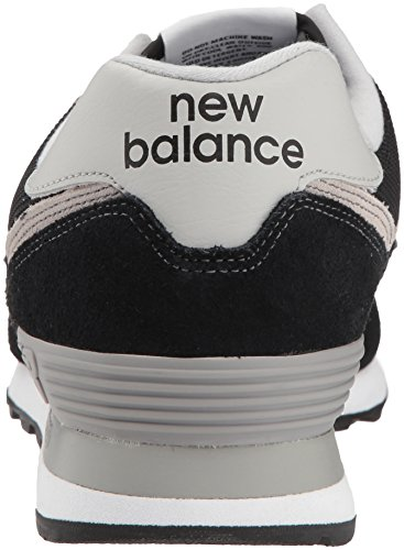 Ml574V2 Uomo Nero Sneaker Balance New 5xqOw7vF