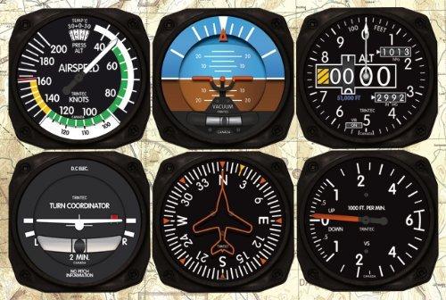 (New Trintec 2060 Series 6 Piece Instrument Coaster Set of 6 Coasters)