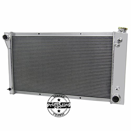 (Primecooling 52MM 3 Row Core Aluminum Radiator for 1967-1972 Chevy/GMC C/K 10 20 30 Jimmy Pickup Truck)