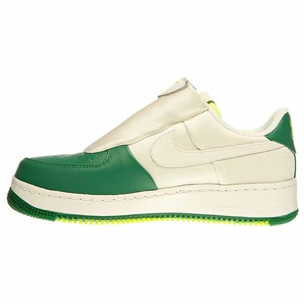 on sale 00bb7 d6ddf Amazon.com    616760-100  Nike Mens Nike AIR Force 1 Low CMFT Low GP SIG  Mens Sneakers NIKEWHITE BLCKM   Basketball