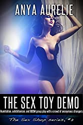The Sex Toy Demo (Humiliation, exhibitionism, and BDSM group play with a crowd of anonymous strangers) (The Sex Shop Book 2)