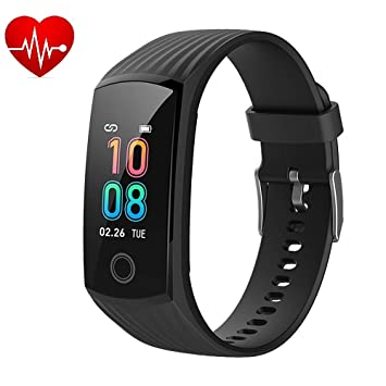 f5274b2d6eb 2019 Color Screen H6 Smartwatch for Men & Women Waterproof Sports Watch Smart  Wristband with Heart