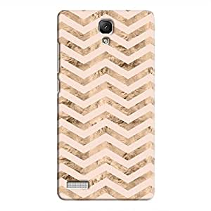 Cover It Up - Brown Pink Tri Stripes Redmi Note 4G Hard case