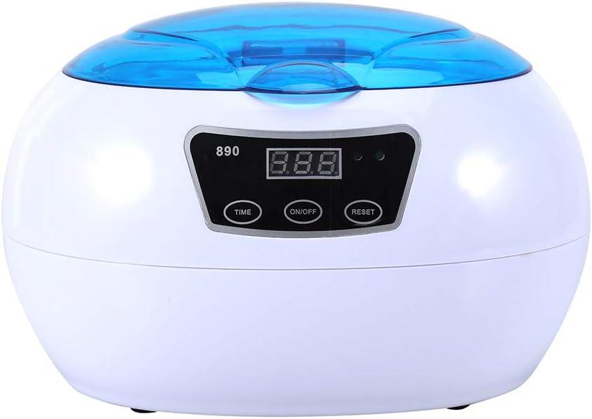 Coco brazo por ultrasonido limpiador ultrasónico (600 ml con acero ...