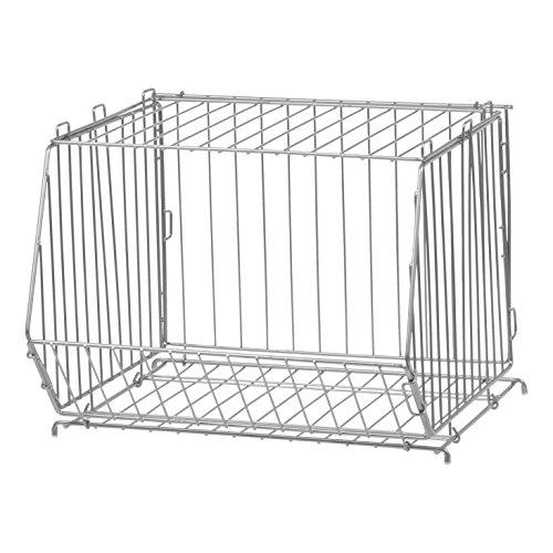 IRIS Modular Wire Stacking Storage Basket, ()