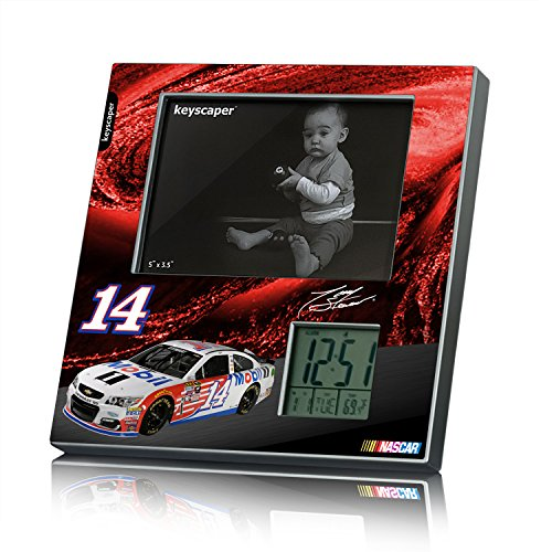 Tony Stewart Picture Frame and Desk Clock (Stewart Nascar Key)