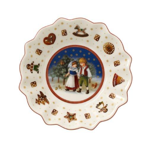 Cuenco Decorativo con dise/ño navide/ño de Hansel y Gretel Villeroy /& Boch