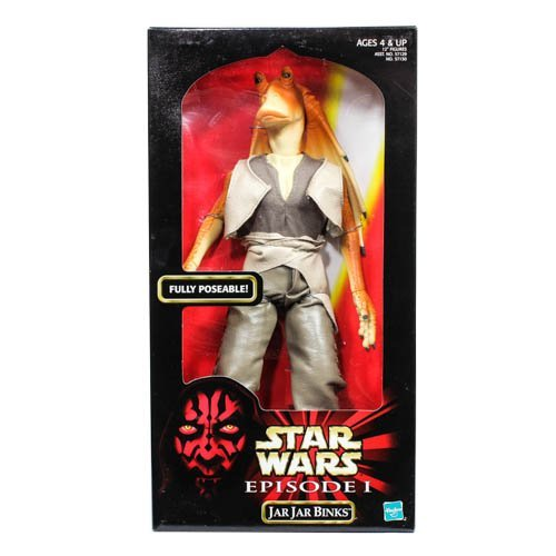 Star Wars Episode 1 Jar Jar Binks 12 inch Action Figure by Star Wars