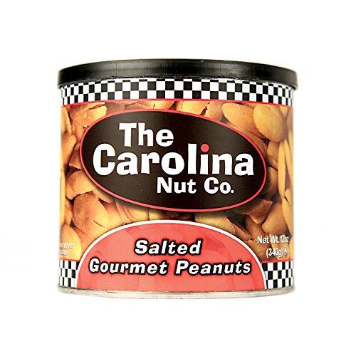 The Carolina Nut Company Peanuts, Gourmet Salted, 12 Ounce