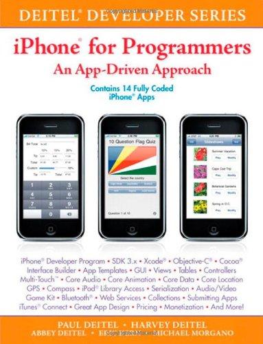 iPhone for Programmers: An App-Driven Approach (Deitel Developer (Paperback))