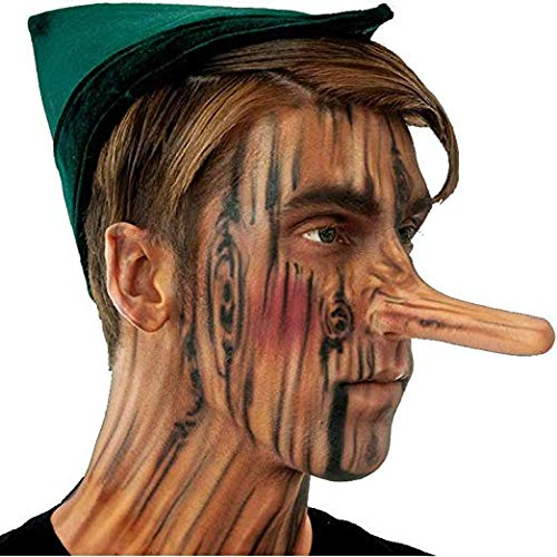 Woochie by Cinema Secrets Pinocchio Nose Latex Appliance, Multi, One -