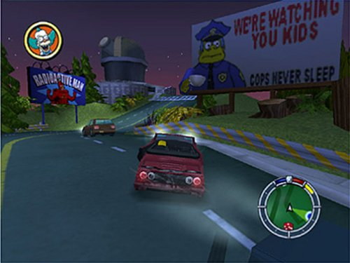 the simpsons hit and run game