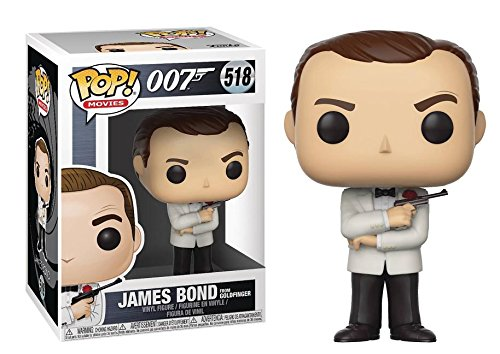 Funko Pop Movies: James Bond-Sean Connery with White Tux Collectible Figure