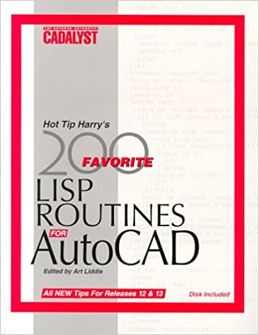 Amazon com: Hot Tip Harry's Favorite 200 Lisp Routines for Autocad