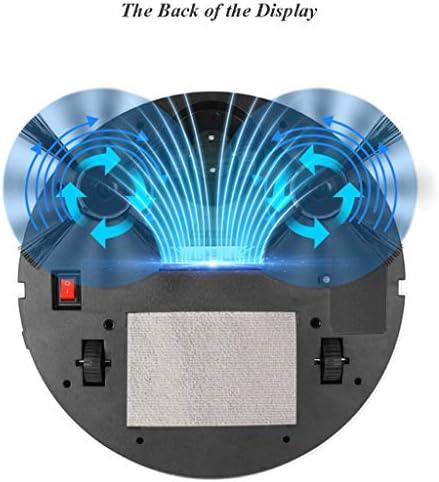 FAPROL Aspirateur Robot Balayeuse Aspirateur sans Fil Blanche Automatique, Balayage, Aspiration Et Nettoyage Simultanés