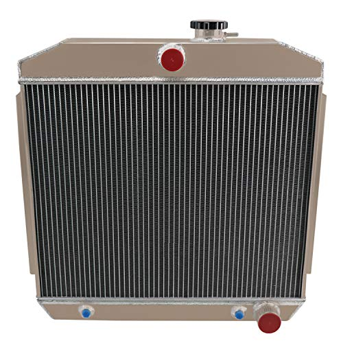 CoolingCare 3 Row Core All Aluminum Radiator for 1955-57 Chevrolet One-Fifty Series/Two-Ten Series/Bel Air