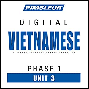 Vietnamese Phase 1, Unit 03 Audiobook