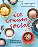Ice Cream Social: 100 Artisanal Recipes for Ice Cream, Sherbet, Granita, and Other Frozen Favorites