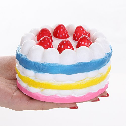 TEEGOMO Scented Squishy Colorful Strawberry product image