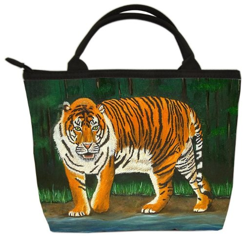 (Bengal Tiger Small Purse, Vegan Handbag - Animal Prints From My Original Paintings - Perfect for Young Girls (Tiger - Emience))