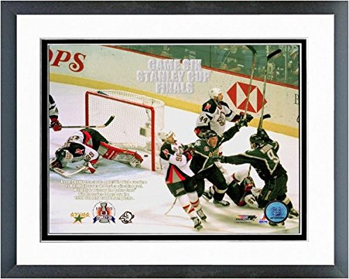 "Brett Hull Dallas Stars NHL Stanley Cup Photo (Size: 12.5"" x 15.5"") Framed"