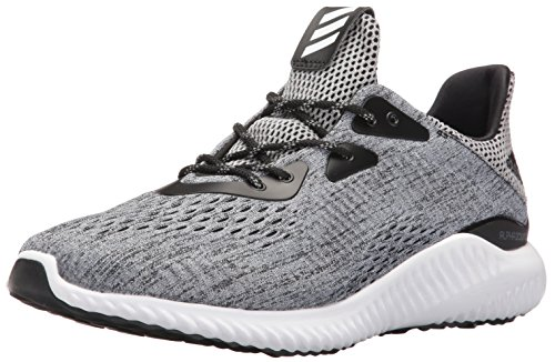 adidas Performance Men's Alphabounce Em M Running Shoe, Black/White/Black, 10 M US by adidas