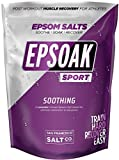 Beauty : Epsoak SPORT Epsom Salt for Athletes - 5 lbs. SOOTHING. All-natural, therapeutic soak with Lavender Essential Oil