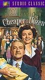 Cheaper By the Dozen [VHS]