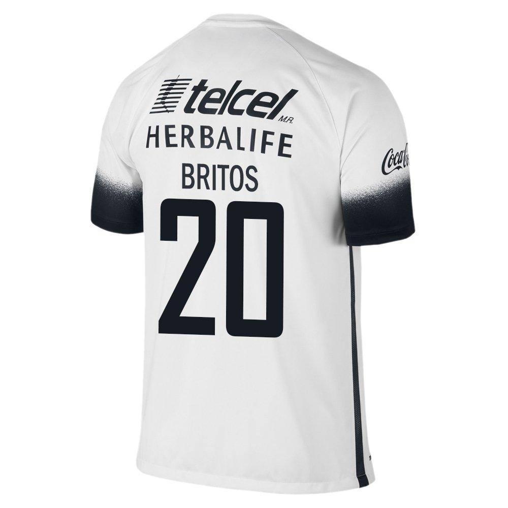 Nike Britos #20 Pumas UNAM 2016 Estadio Tercer Camiseta ...